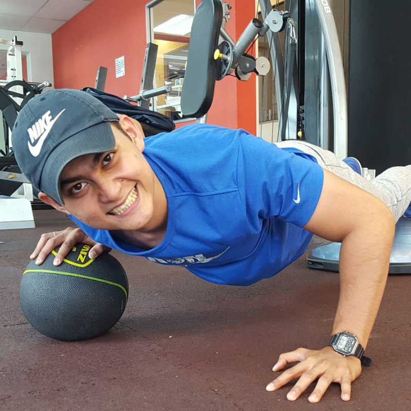 Coach Fareed Fauzi – Degree in Sports Science & ACE certified PT