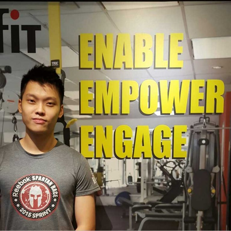 Gave Up Competitive Sport And Found Love In Fitness – Tan Jeck Beng