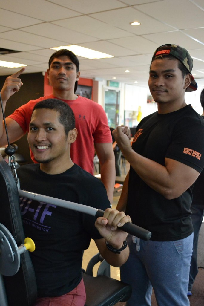 Shafiq, Fizlan & Nashril – from Fitness Enthusiasts to Fitness Trainers